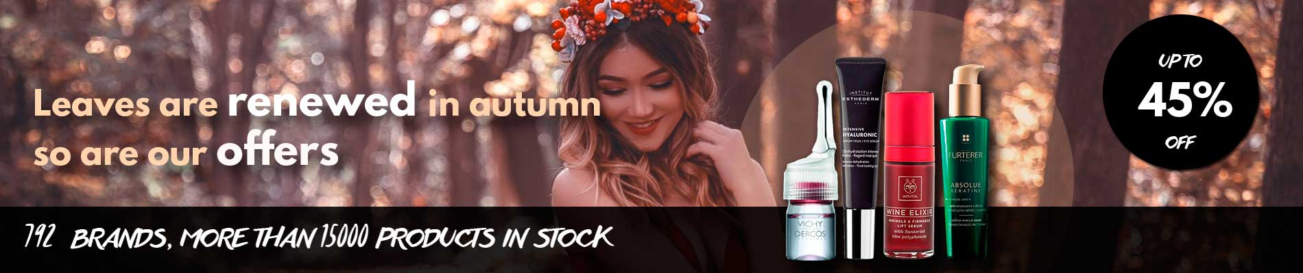 Start September with new and exclusive brands