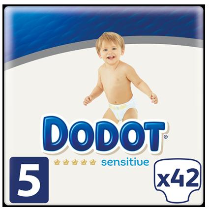 Dodot Sensitive T-5 42 Units