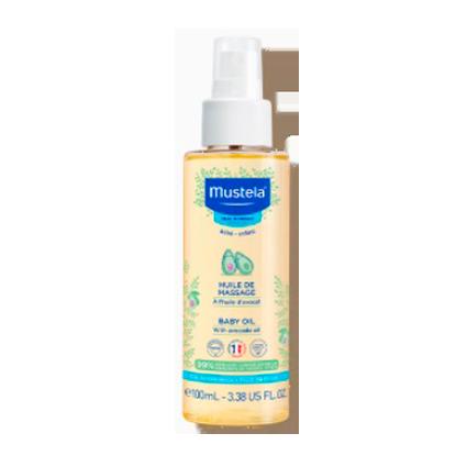 Mustela Bébé Massage Oil 110ml
