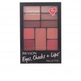 Revlon Eyes Cheeks & Lips Palette 100 Romantic Nudes