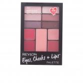 Revlon Eyes Cheeks Lips Palette 300 Berry In Love