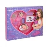 Disney Violetta Eau De Toilette Vaporisateur 30ml Coffret 3 Produits
