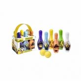 Disney Minions Set De Bowling Pour Le Bain 8 Produits