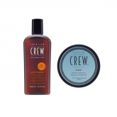 American Crew Daily Shampooing 250ml Set 2 Produits 2017