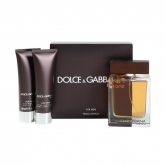 Dolce And Gabbana The One For Men Eau De Toilette Vaporisateur 100ml Coffret 2 Produits 2018