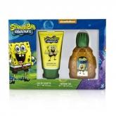 Nickelodeon Squarepants Sponge Bob Eau De Toilette Vaporisateur 50ml Coffret 2 Produits
