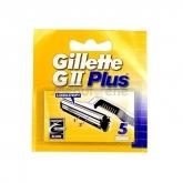 Gillette GII Plus Nachfüllung 5 Einheiten
