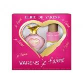 Ulric de Varens Je T Aime Eau de Parfum Vaporisateur 50ml Coffret 2 Produits