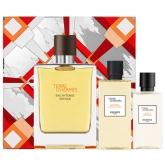 Terre d'Hermès Eau Intense Vétiver Eau De Perfume Spray 100ml Set 3 Pieces 2019