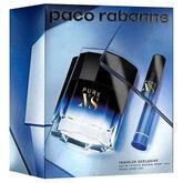 Paco Rabanne Pure Xs Eau De Toilette Vaporisateur 100ml Coffret 2 Produits
