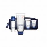 Clarins Men Baume Super Hydratant 50ml Coffret 5 Produits
