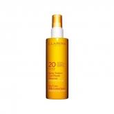 Clarins Spray Solaire Lait Fluide Douceur Moyenne Protection Spf20 150ml