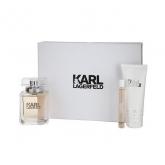 Karl Lagerfeld Eau De Parfum Vaporisateur 85ml Coffret 3 Produits