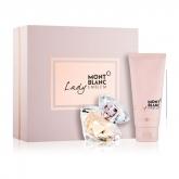 Mont Blanc Lady Emblem Eau De Parfum Vaporisateur 50ml Coffret 2 Produits 2018