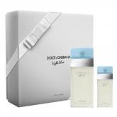 Dolce And Gabbana Light Blue Eau De Toilette Vaporisateur 100ml Coffret 2 Produits 2018