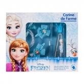Disney Corine De Farme Frozen Eau De Toilette Vaporisateur 30ml Coffret 5 Produits 2018