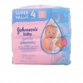 Johnsons Baby Lingettes 4x56 Unités