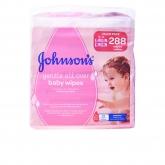 Johnsons Baby Lingettes 288 Unités