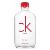 Calvin Klein Ck One Red Edition For Her Eau De Toilette Vaporisateur 50ml