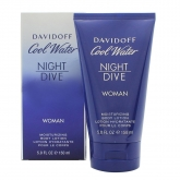 Davidoff Cool Water Night Dive Women Lotion Pour Le Corps 150ml