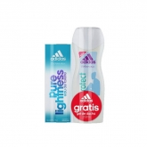 Adidas Woman Pure Lightness Eau De Toilette Vaporisateur 50ml Coffret 2 Produits 2017