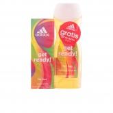 Adidas Woman Get Ready Eau De Toilette Vaporisateur 50ml Coffret 2 Produits 2017
