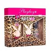 Playboy Play It Wild Eau De Toilette Vaporisateur 30ml Coffret 2 Produits 2017