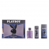 Playboy King Of The Game Eau De Toilette Vaporisateur 100ml Coffret 3 Produits