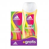 Adidas Get Ready For Her Eau De Toilette Vaporisateur 50ml Coffret 2 Produits 2018