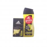 Adidas Men Pure Game Shower Gel 250ml Coffret 2 Produits 2017