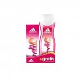 Adidas Woman Fruity Rhythm Eau De Toilette Vaporisateur 50ml Set 2 Produits