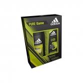 Adidas Pure Game Corps Cheveux Visage 250ml Coffret 2 Produits 2018