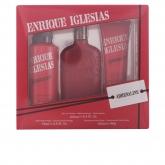 Enrique Iglesias Adrenaline Eau De Toilette Vaporisateur 100ml Coffret 3 Produits