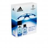 Adidas Uefa Champions League Arena Eau De Toillete Vaporisateur 50ml Coffret 2 Produits 2017