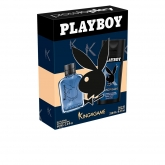 Playboy King Of The Game Eau De Toilette Vaporisateur 60ml Coffret 2 Produits 2017