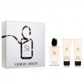 Armani Si Eau De Parfume Vaporisateur 100ml Coffret 3 Produits 2017