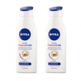 Nivea Reparateur And Soin Body Milk 400ml Coffret 2 Produits