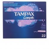 Tampax Compak Léger 22 Unités