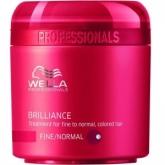 Wella Brilliance Traitement Pour Cheveux Fines Ou Normales 150ml