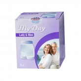 My Day Coulotte Unisex Taille M 5 Unités