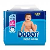 Dodot Bebé Seco T-5 80 Units