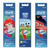 Oral-B Kids Têtes De Brosse 2 Unités
