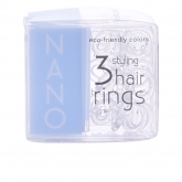 Invisibobble Hair Ring Nano Crystal Clear 3 Produits