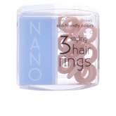 Invisibobble Hair Ring Nano To Be Or Nude To Be 3 Produits