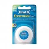 Oral-B Essential Floss Fil Dentaire Ciré Menthe 50m