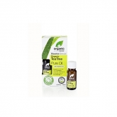 Dr Organic Tea Tree Huile Pure 10ml