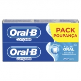 Oral-B Complete Toothpaste Mouthwash + Whitening 75ml Set 2 Pieces 2017