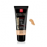 Eveline Art Scenic Couverture Maquillage 3 En 1 Effet Durable Spf10 Light Beige 40ml