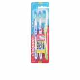 Colgate Extra Clean Medium Brosse À Dents 3 Unités