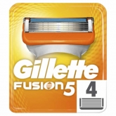Gillete Fusion 5 Pieces De Gillette Fusion 4 Unités